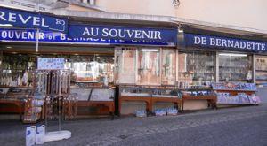 Shopping in Lourdes, France