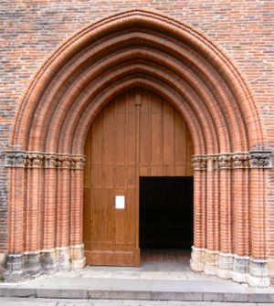 Jacobin Convent Door, Toulouse, France
