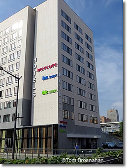 Hotels at Gare de Part-Dieu, Lyon, France