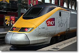 TGV Train, Paris, France