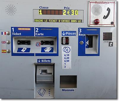 toll machine